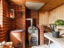 Sauna, ei sähkövaloa