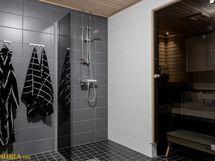 Tyylikäs, ajaton kylpyhuone