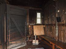 Savusaunan pukuhuone