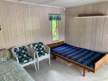 Saunatuvassa on tilaa vieraille