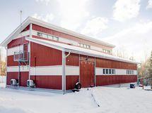 Hallirakennus 200 m².