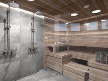 Sauna A8, sisustusmaailma OPAALI