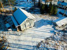Kastelli talo valmistumassa Somerniemellä