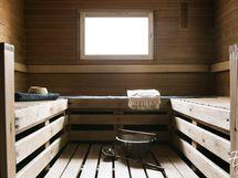 Saunasta ikkunat Sylvöjärvelle