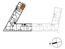 Asunnon C47 sijainti kerroksessa