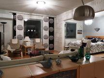 olohuone  ja makuuhuone 1