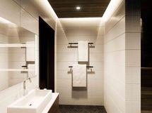 Kylpyhuoneessa tilaa isolle allastasolle (havainnekuva)