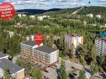 Puijon Kuusitiaisen rakentaminen alkaa 02/2021. Viitteellinen kuva kohteesta.