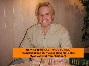 Huoneistokettu LKV, Harri Seppälä LKV