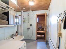 kylpyhuonetta ja sauna