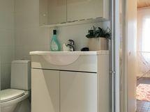 Wc, kylpyhuone/kodinhoitohuoneosastolla