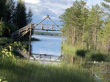 Kanavan suu Oulujärvelle - canal to tLake Oulujärvi