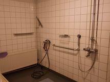 saunaosaston suihkutilat