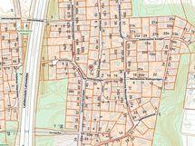 Sillitie 2a kaupunkikartalla