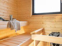 juuri remontoitu sauna