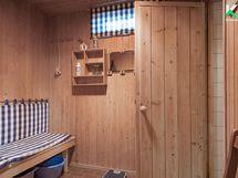 Saunan pukuhuoneesta