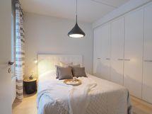 Kuva Kohauksen stailatusta A10 huoneistosta