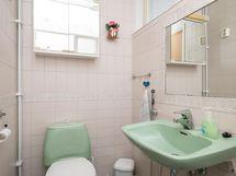 Etusiiven wc suihkulla