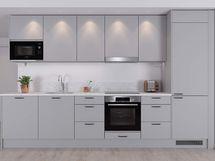 Visualisointi lisähintaisesta Villa-keittiötyylistä