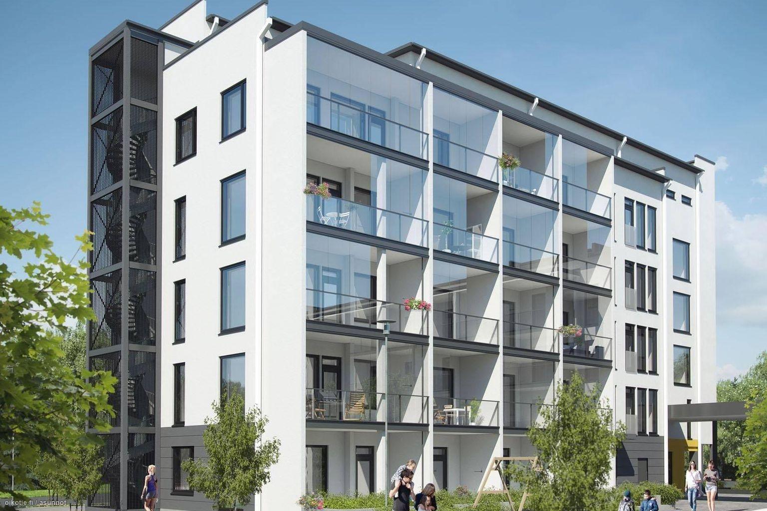 26 m² Valtimotie 3 A as. 9, 01400 Vantaa Kerrostalo Yksiö myynnissä - Oikotie 14849109