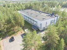 tuotantotila puulaakintie 8 palokangas jyvaskyla Sagax ilmakuva