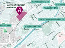 Kartta Solina 3:n sijainnista ja alueesta