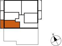 Asunnon B73 sijainti kerroksessa