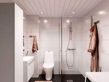 Visualisointi kodin kylpyhuoneesta