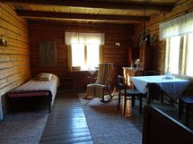 Päätalon makuuhuone