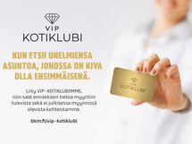 Liity BKM VIP-kotiklubiin