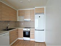 Kuva on vastaavasta asunnosta otettu talon valmistuttua, eli kuva on suuntaa antava.