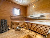 Tyylikäs sauna