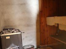 Sauna alustassa
