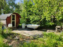 Tynnyri sauna