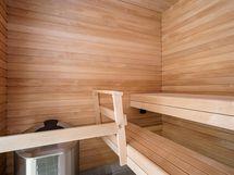 Taloyhtiön kuntosalin sauna