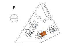 Asunnon C9 sijainti kerroksessa