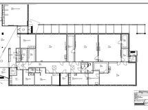 B-rakennuksen pohja