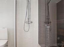 suihkuseinä, laatat valittavissa, suunnittele oman näköinen kylpyhuone
