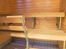 Sauna jossa kippilauteet