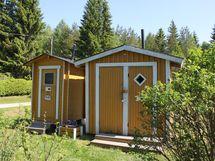 Alueella useita yhteiskäytössä olevia wc:itä