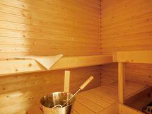 Vähäisessä käytössä ollut sauna