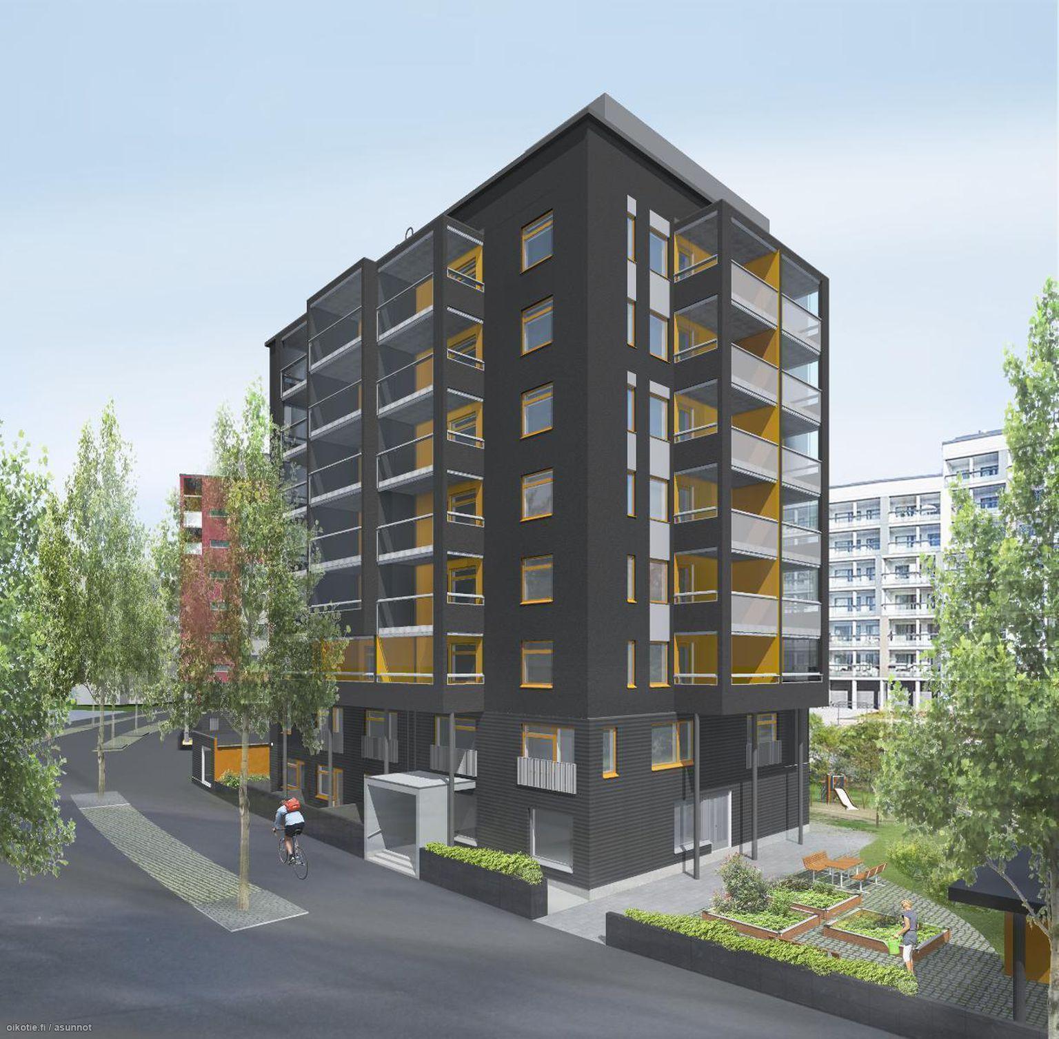 40,5 m² Keimolankaarre 1 b A, 01700 Vantaa Kerrostalo Kaksio myynnissä - Oikotie 14839283