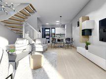 Havainnekuva 81,5 m² huoneistosta
