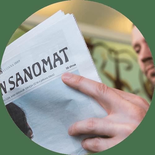 Tavoita painetun lehden lukijat ja kasvata potentiaalisten asiakkaiden määrää.