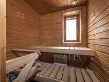 Löylyt omassa saunassa