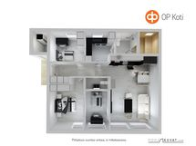 3D pohjakuva