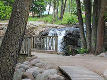 Strömbergin puiston koski