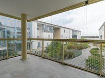 Näkymä parvekkeesta - Vy från balkongen