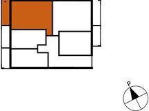 Asunnon B76 sijainti kerroksessa
