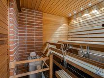 Kuva asuntoon kuuluvasta saunaosakkeesta.